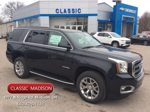 Carbon Black Metallic 2020 GMC Yukon SLE 4WD
