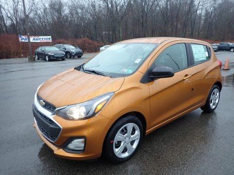 Orange Burst Metallic 2020 Chevrolet Spark LS