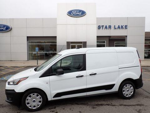 Frozen White 2020 Ford Transit Connect XL Van