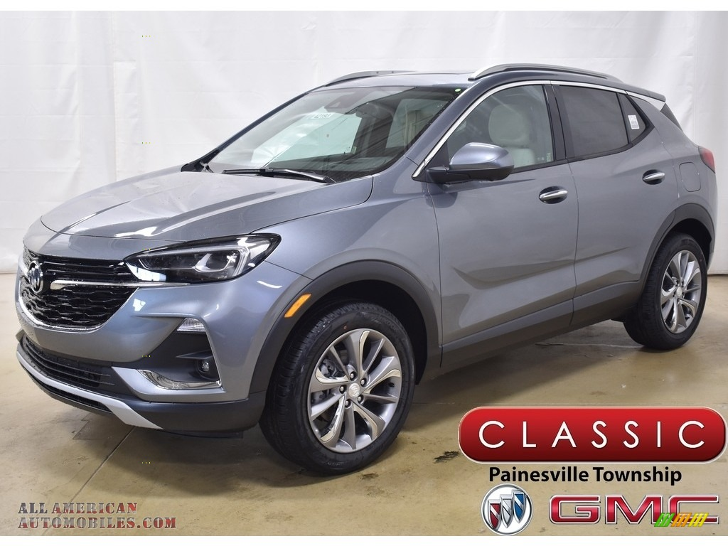 2020 Encore GX Essence AWD - Satin Steel Metallic / Whisper Beige photo #1