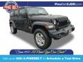 Jeep Wrangler Unlimited Sport 4x4 Black photo #1