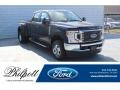 Ford F350 Super Duty XLT Crew Cab 4x4 Agate Black photo #1