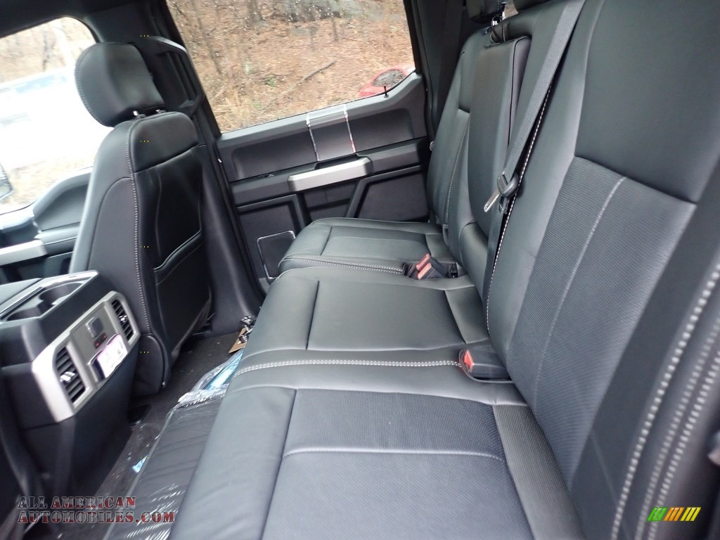 2020 F150 Lariat SuperCrew 4x4 - Lead Foot / Black photo #8