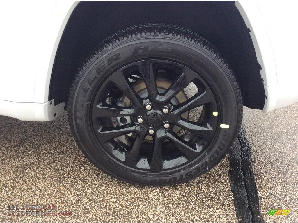 2020 Grand Cherokee Altitude 4x4 - Bright White / Black photo #9