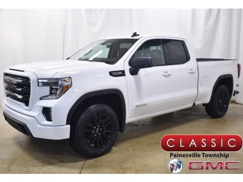 Summit White 2020 GMC Sierra 1500 Elevation Double Cab 4WD