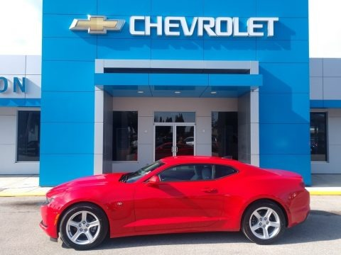 Red Hot 2020 Chevrolet Camaro LT Coupe