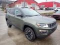Jeep Compass Trailhawk 4x4 Olive Green Pearl photo #7