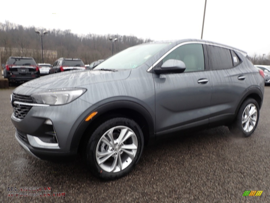2020 Encore GX Preferred AWD - Satin Steel Metallic / Whisper Beige photo #1