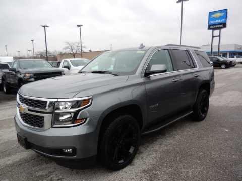 Satin Steel Metallic 2020 Chevrolet Tahoe LT 4WD