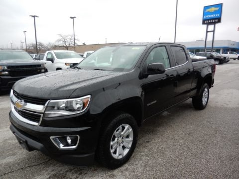 Black 2020 Chevrolet Colorado LT Crew Cab 4x4
