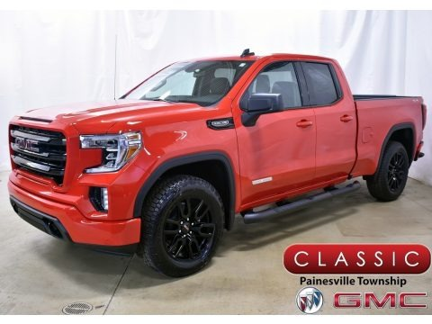 Cardinal Red 2020 GMC Sierra 1500 Elevation Double Cab 4WD