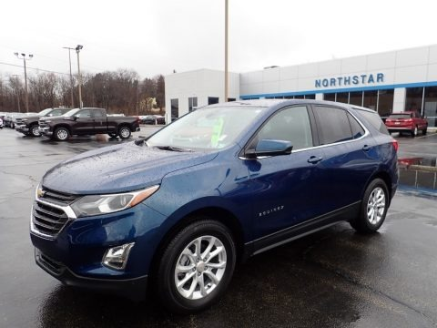 Pacific Blue Metallic 2020 Chevrolet Equinox LT AWD