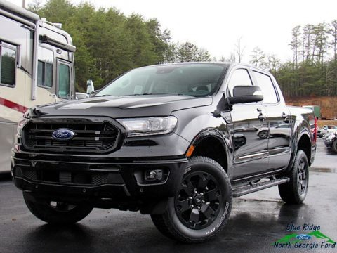 Shadow Black 2020 Ford Ranger Lariat SuperCrew 4x4