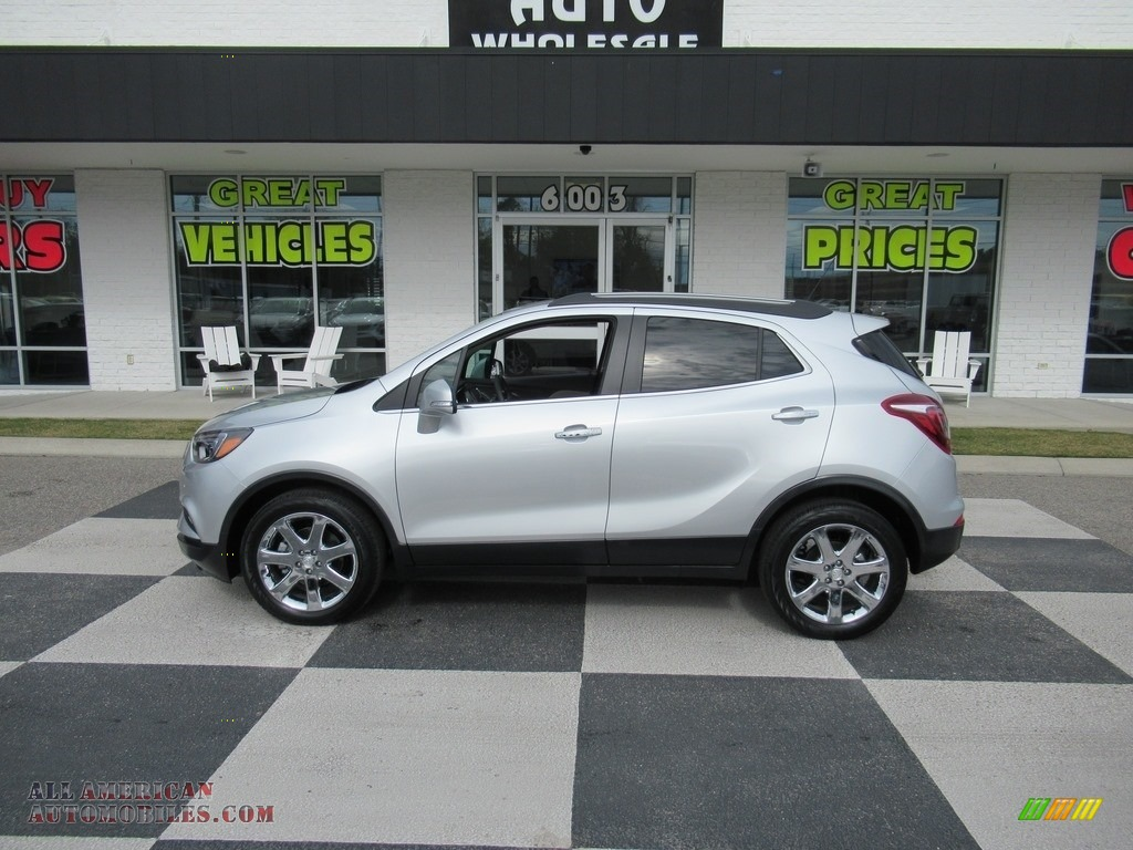 Quicksilver Metallic / Shale Buick Encore Essence