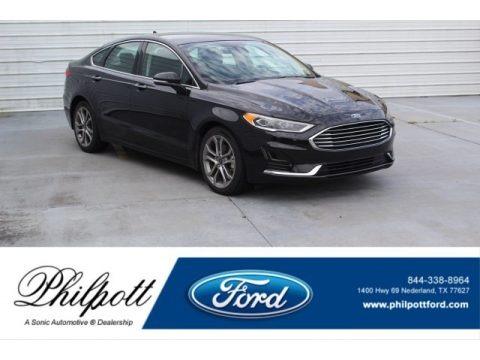 Agate Black 2019 Ford Fusion SEL