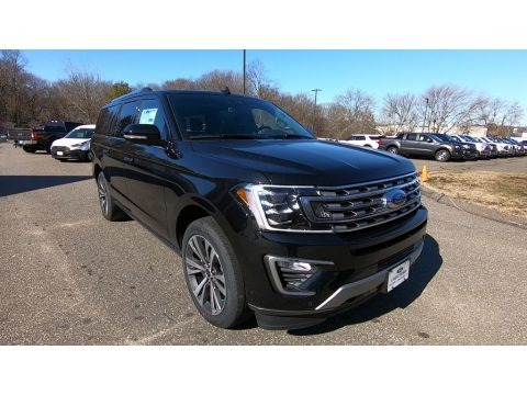 Agate Black 2020 Ford Expedition Limited Max 4x4