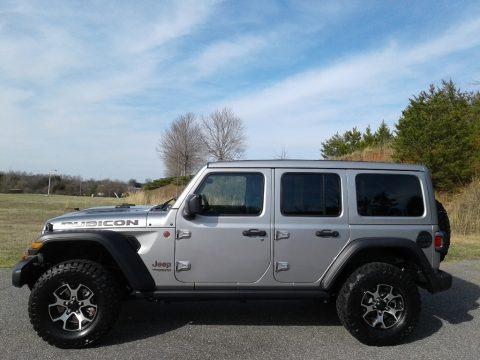 Billet Silver Metallic 2020 Jeep Wrangler Unlimited Rubicon 4x4