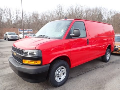 Red Hot 2020 Chevrolet Express 2500 Cargo WT