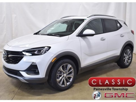 White Frost Tricoat 2020 Buick Encore GX Essence