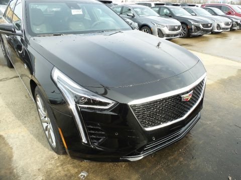 Stellar Black Metallic 2020 Cadillac CT6 Luxury AWD