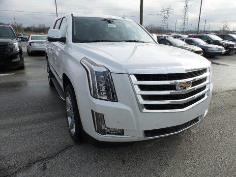 Crystal White Tricoat 2020 Cadillac Escalade Luxury 4WD