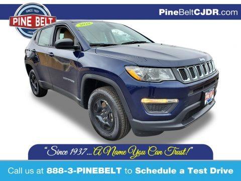 Jazz Blue Pearl 2020 Jeep Compass Sport 4x4