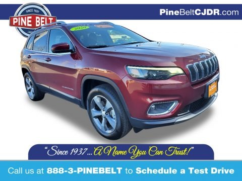 Velvet Red Pearl 2020 Jeep Cherokee Limited 4x4