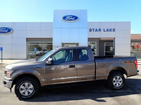Stone Gray 2020 Ford F150 XLT SuperCab 4x4
