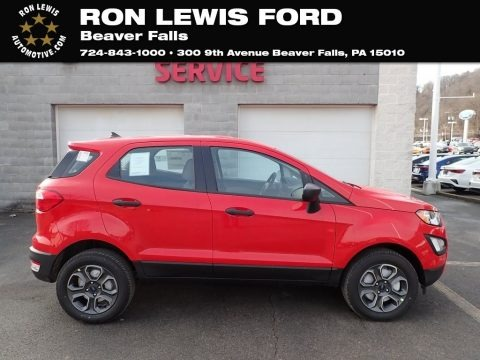 Race Red 2020 Ford EcoSport S 4WD