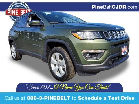 Olive Green Pearl 2020 Jeep Compass Latitude 4x4