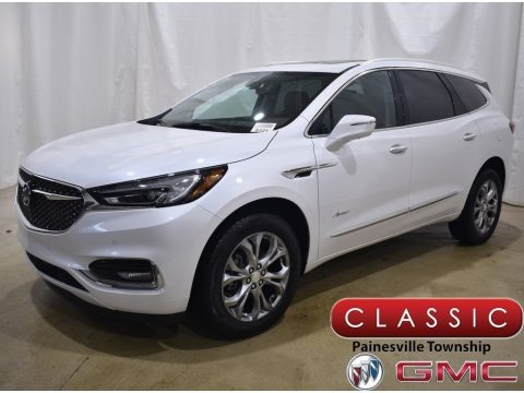 White Frost Tricoat 2020 Buick Enclave Avenir AWD