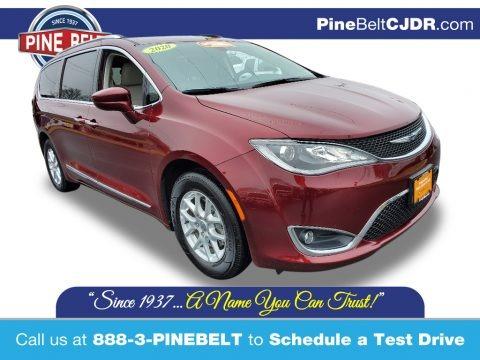 Velvet Red Pearl 2020 Chrysler Pacifica Touring L