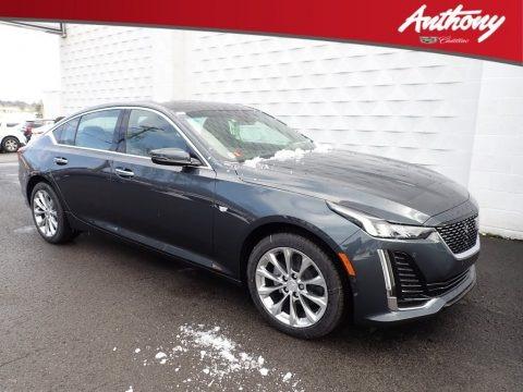 Shadow Metallic 2020 Cadillac CT5 Premium Luxury AWD