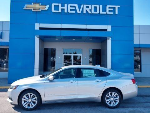 Silver Ice Metallic 2020 Chevrolet Impala LT