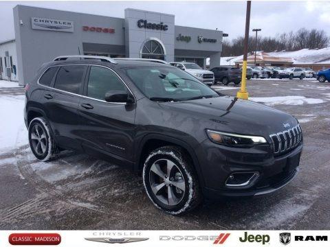 Granite Crystal Metallic 2020 Jeep Cherokee Limited 4x4