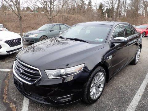 Agate Black 2019 Ford Taurus Limited
