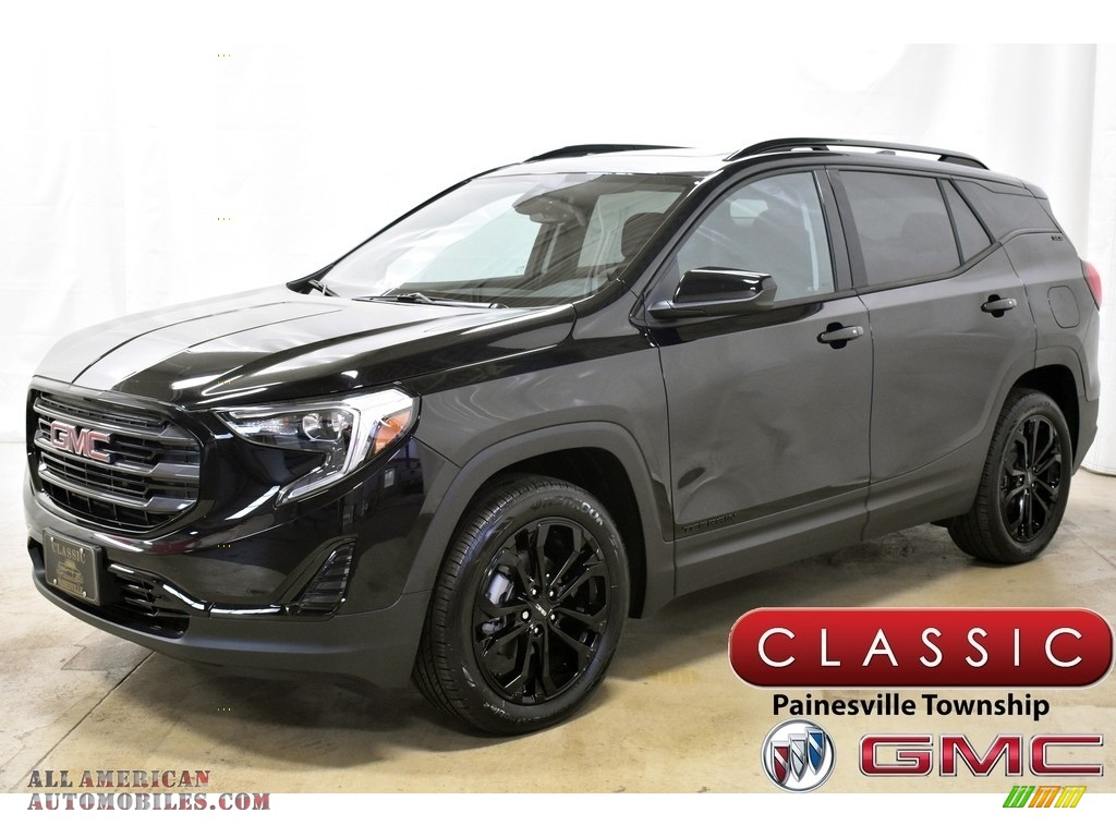 Ebony Twilight Metallic / Jet Black GMC Terrain SLE AWD