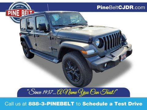 Sting-Gray 2020 Jeep Wrangler Unlimited Sport 4x4