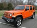 Jeep Wrangler Unlimited Sahara 4x4 Punkn Metallic photo #2