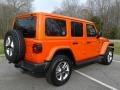 Jeep Wrangler Unlimited Sahara 4x4 Punkn Metallic photo #6