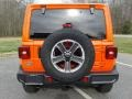 Jeep Wrangler Unlimited Sahara 4x4 Punkn Metallic photo #7