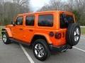 Jeep Wrangler Unlimited Sahara 4x4 Punkn Metallic photo #8