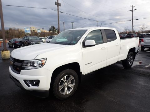 Summit White 2019 Chevrolet Colorado Z71 Crew Cab 4x4