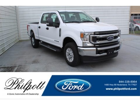 Oxford White 2020 Ford F250 Super Duty STX Crew Cab 4x4