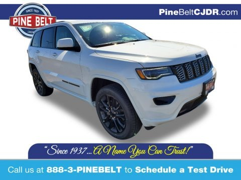 Bright White 2020 Jeep Grand Cherokee Altitude 4x4