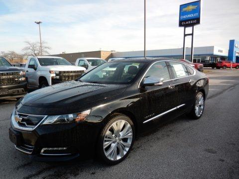 Black 2020 Chevrolet Impala Premier