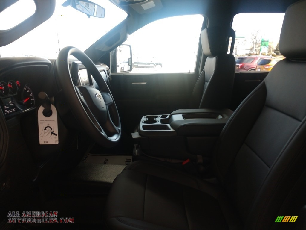 2020 Silverado 2500HD Work Truck Crew Cab 4x4 - Silver Ice Metallic / Jet Black photo #12