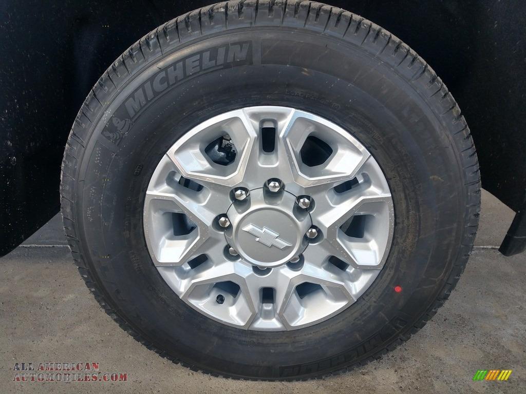 2020 Silverado 2500HD Work Truck Crew Cab 4x4 - Silver Ice Metallic / Jet Black photo #15