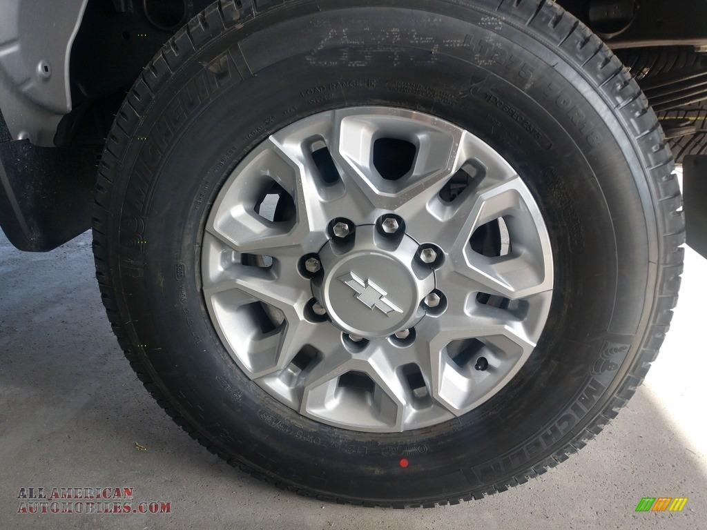 2020 Silverado 2500HD Work Truck Crew Cab 4x4 - Silver Ice Metallic / Jet Black photo #17