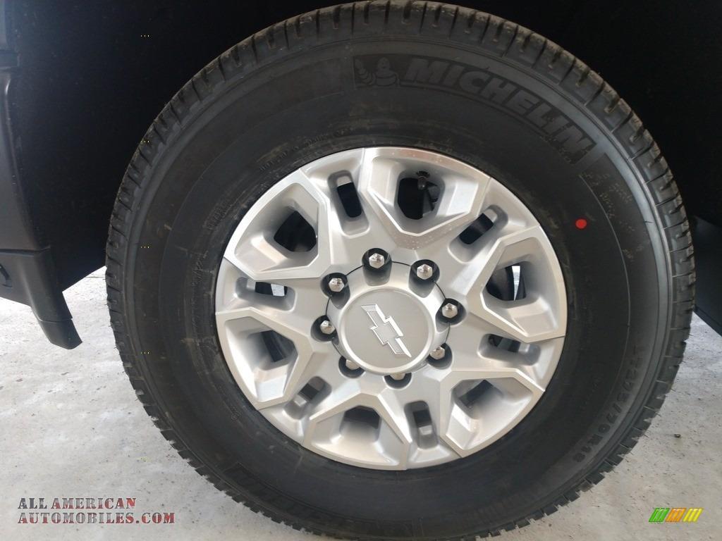 2020 Silverado 2500HD Work Truck Crew Cab 4x4 - Silver Ice Metallic / Jet Black photo #18
